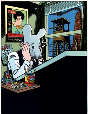 mage: Art Spiegelman, Self-Portrait with Maus Mask, 1989. Copyright ©1989 by Art Spiegelman.
