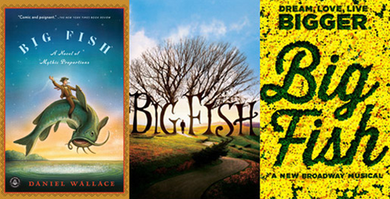 From book to screen to broadway a talk with the 39 big fish for Big fish book