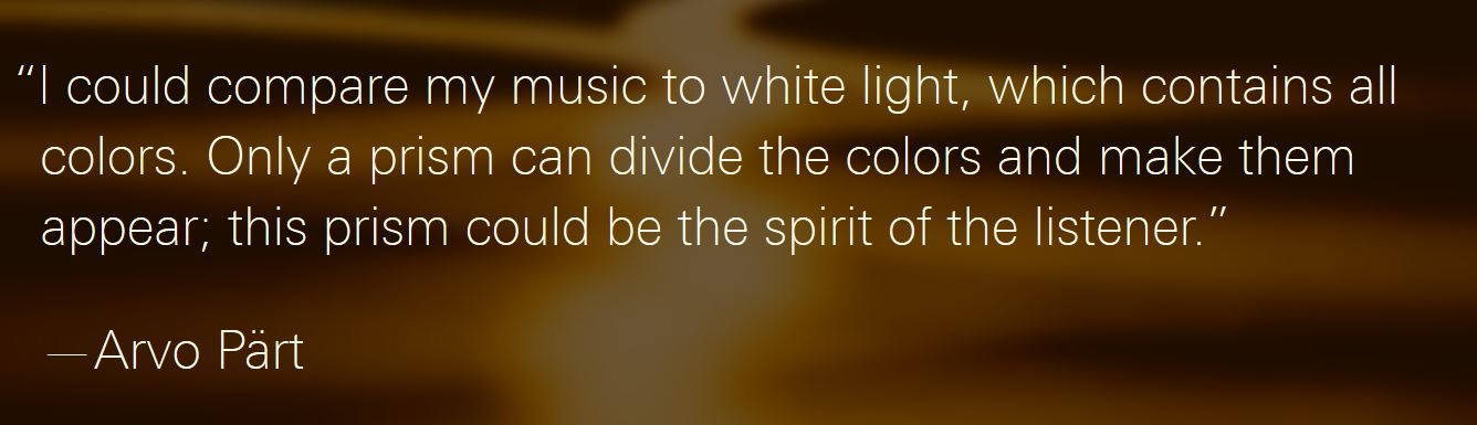 Image: Lincoln Center White Light Festival