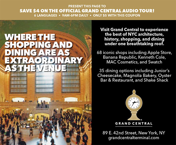 special discount grand central