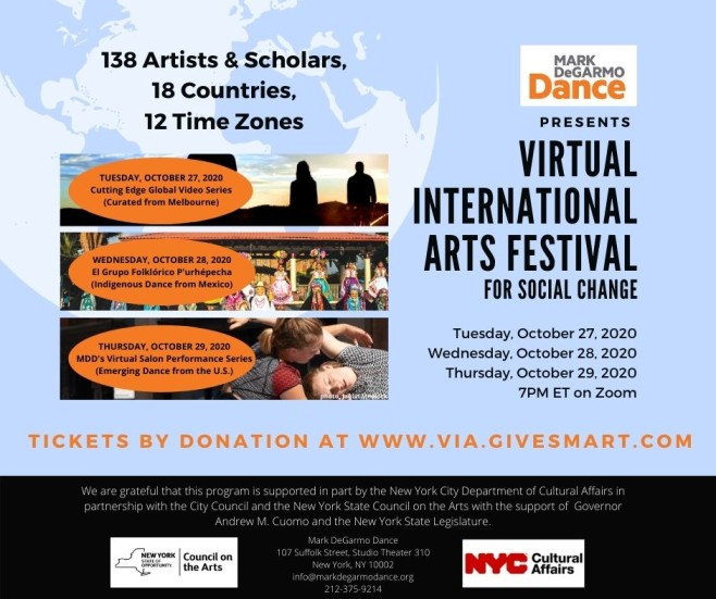 Virtual International Arts Via Festival For Social Change Thoughtgallery Orgthoughtgallery Org
